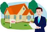 Real Estate Agent,House,Gra...