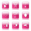 Interface Icons,Pink Color,...
