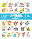 Animal,Alphabet,Young Anima...
