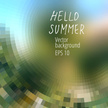 Summer,Season,Pixelated,Geo...