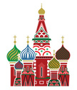 Russia,Label,Church,Ilustra...