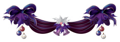 Christmas,Purple,Bow,Leaf,H...
