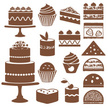 Cake,Symbol,Pastry,Collecti...