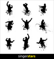 Silhouette,Music,Vector,Sho...