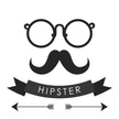 Hipster,Mustache,Poster,Old...