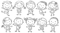 Child,Line Art,Happiness,Ch...
