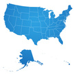 USA,Map,Cartography,North A...
