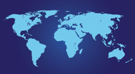 World Map,Blue,Design Eleme...