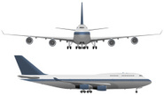 Airplane,Boeing 747,Commerc...