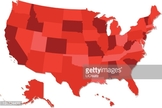 State,Map,USA,Illustration,...