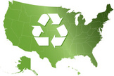 Map,USA,state,Recycling,Gre...