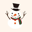 Snowman,Christmas Icons,Dec...