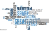 White Background,Concepts & Topics,Sparse,Cut Out,Inspiration,Vector,Simplicity,Placard,Modern,Blue,Single Word,Imagination,Text,Word Cloud,Contemplation,Gray,Symbol,Illustration,Human Internal Organ,Design,Brainstorming,Human Brain,Freedom,Creativity,White Color,Shape,2015,Ideas,Concepts