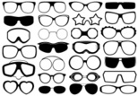 Eyeglasses,Isolated,Lens - ...
