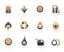 Oil,Natural Gas,Flame,Symbo...
