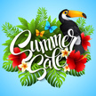 Tropical Rainforest,Holiday - Event,Black Color,Template,Concepts & Topics,Season,Vacations,Sunlight,Label,Single Flower,Tropical Climate,Animal Markings,Design Element,Vector,Hibiscus,Leaf,Color Image,Plant,Exoticism,Placard,Flower,Blossom,,Summer,Computer Graphic,Part Of,Decoration,Poster,Floral Pattern,Pattern,Bird,Symbol,Colors,Illustration,Multi Colored,Sunny,Design,Beauty In Nature,Beauty,Banner - Sign,Toucan,Remote Location,Nature,Red,Sale,Palm Tree,2015,No People,Ideas,Green Color,Concepts,Springtime