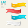 modern vector abstract step lable infographic elements