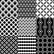 Black And White,Pattern,Bac...