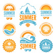 Orange Color,White Background,Animal Shell,Icon Set,Cut Out,Yacht,Vacations,Sunlight,Label,Tropical Climate,Design Element,Vector,Icon,Seashell,,Summer,Sun,Blue,Sign,Travel,Sea,Idyllic,Symbol,Illustration,Design,Wave - Water,Sailing,Sunglasses,White Color,Palm Tree,2015,Tourism