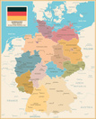 Map,Germany,Vector,Geograph...
