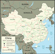Map,China - East Asia,Carto...