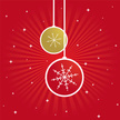 Red Background,Christmas Or...