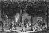 Hinduism,Engraving,Outdoors...