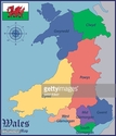 Wales,Silhouette,State,UK,B...