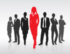 Corporate Business,Crowd,People,Teamwork,Black Color,Standing,Leadership,Businesswoman,Vector,Business Finance and Industry,Professional Occupation,Silhouette,Men,Computer Graphic,Women,Adult,Businessman,Males,Community,Occupation,Illustration,Females,Recruitment,Multi-Ethnic Group,Red,Suit,Business,Variation,Manager,2015,Individuality