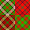 Plaid,Red,Green Color,Vecto...