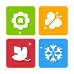 Four Seasons,Symbol,Icon Se...