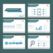 Blue Multipurpose presentation Templates set