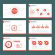 Red Multipurpose presentation Templates