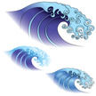 Wave,Japanese Culture,Water...