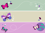 Butterfly - Insect,Purple,V...
