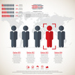 Business management, strategy or human resource infographic