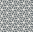 monochrome hexagonal pattern