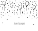 Art,Holiday - Event,Celebration,Doodle,Cut Out,Anniversary,Fun,Scribble,Design Element,Art And Craft,Vector,Backgrounds,Human Body Part,Carnival - Celebration Event,Pencil Drawing,Abstract,Drawing - Activity,Decoration,Pattern,Party - Social Event,Helium Balloon,Illustration,Design,Banner - Sign,Ornate,Human Hand,Confetti,Sketch,Balloon,Greeting Card,2015,Cartoon,Art Product,Helium