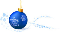 Christmas Ornament,Blue,Chr...