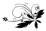 Tattoo,Flower,Floral Patter...