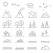 Grass,Icon Set,Concepts & ...