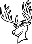 Deer,Stag,Mascot,Vector,Car...