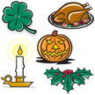 Candle,Turkey,Christmas,Din...
