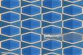 Mosaic,Perforated,Blue,Geom...