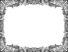 Frame,Ornate,Gothic Style,S...