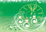 Clock,Candle,Christmas,Time...