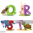 Background,Letter Q,Animal,...