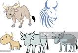 Wild Cattle,Chinese Zodiac ...