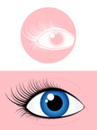 Symbol,Human Eye,Eyelash,Bl...