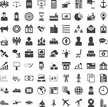 Universal icon set. 81 icons